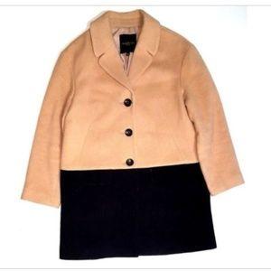TALBOTS 10P Medium Petite Wool Blend Coat Dressy